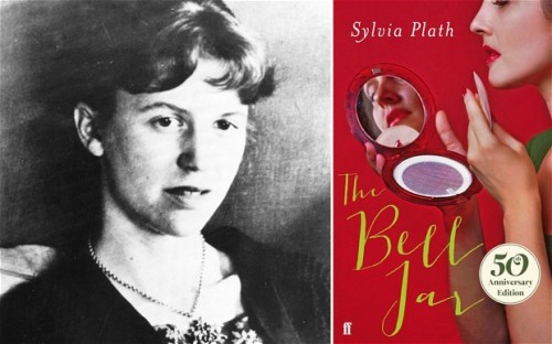 Sylvia Plath and the new cover of The Bell Jar