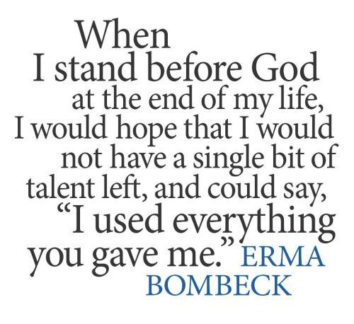 Erma Quote